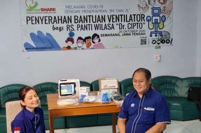 Bantuan Ventilator dari DoctorShare