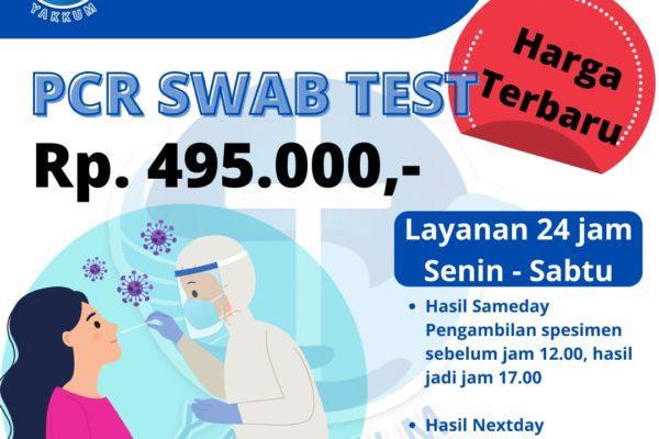 PCR Turun Harga