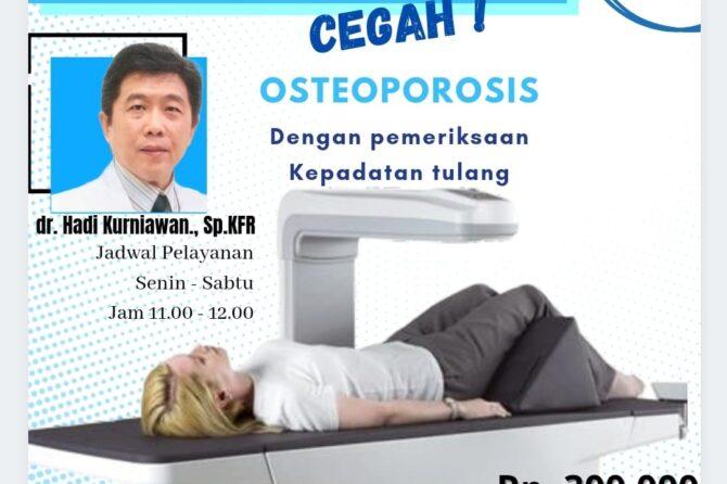 Paket Skrining Osteoporosis